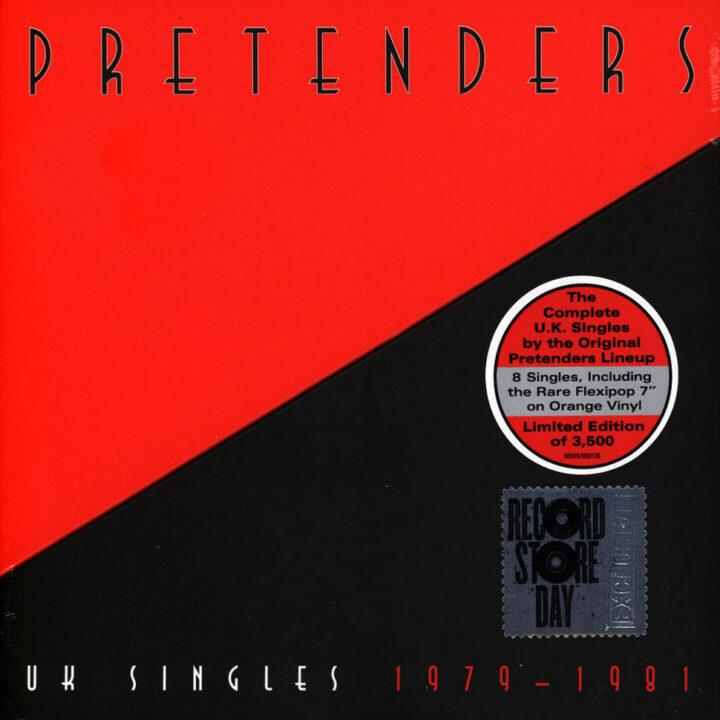 The Pretenders UK Singles 1979-1981 Black Friday Record Store Day 2019 Vinyl Edition