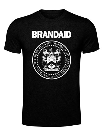 Brandaid T Shirt Preorder Posted
