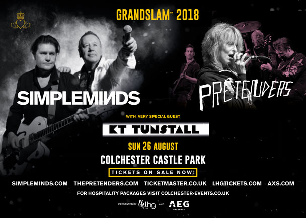 TICKETS Castle Park COLCHESTER Sunday 26th August 2018