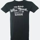 Classic Fit 'Band Will Travel' T Shirt