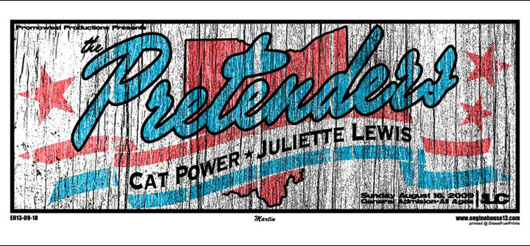 The Pretenders 2009 Poster
