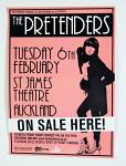 The Pretenders -  St James Theatre 2007 Poster