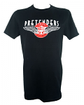 Classic Fit Pretenders T Shirt With US Tour Date Back Print