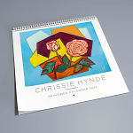 Chrissie Hynde Paintings Calendar 2021
